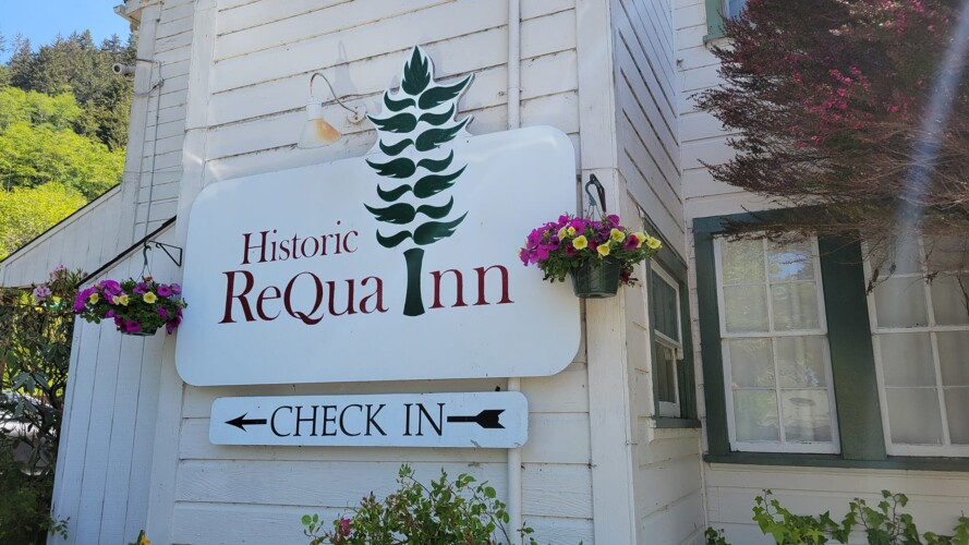 Requa Inn ~ Carruthers Cove Suite ~ River Front View